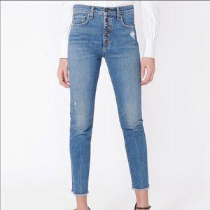 Veronica Beard Debbie 10 Skinny Jeans -Light wash